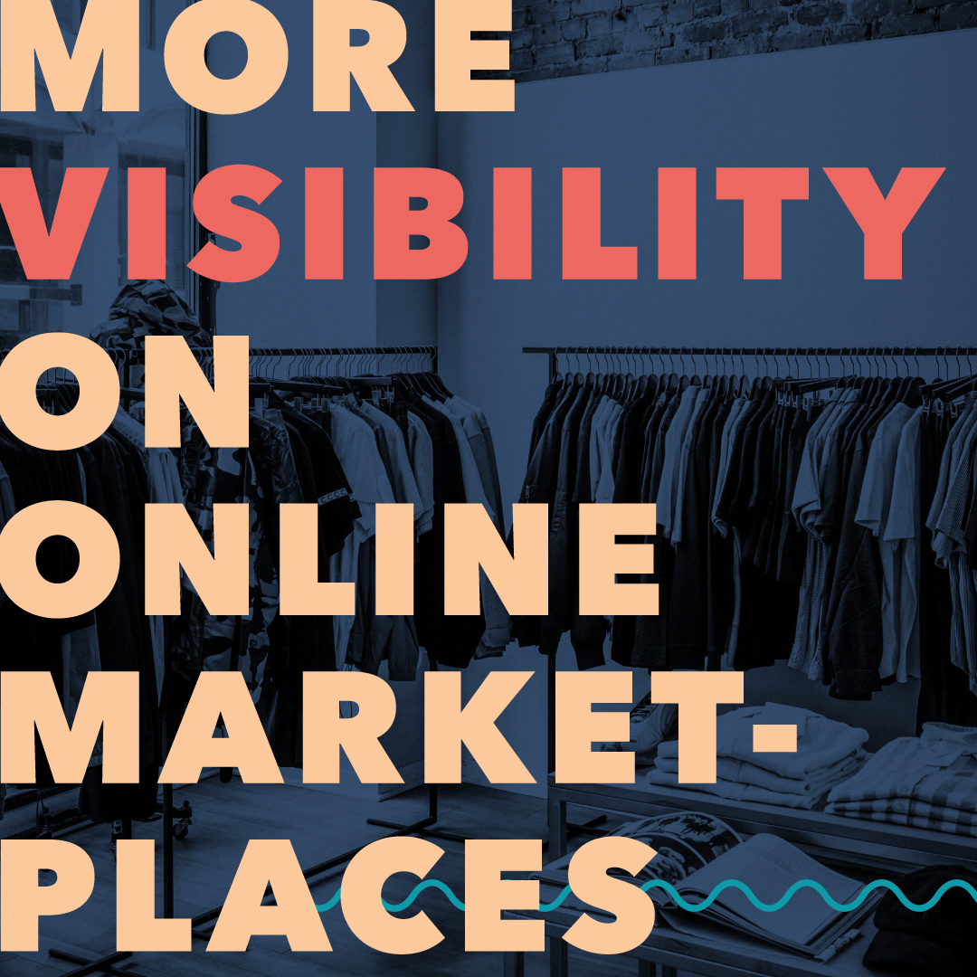 More visibility on online-marketplaces